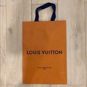 AUTHENTIC LOUIS VUITTON SHOPPING BAG